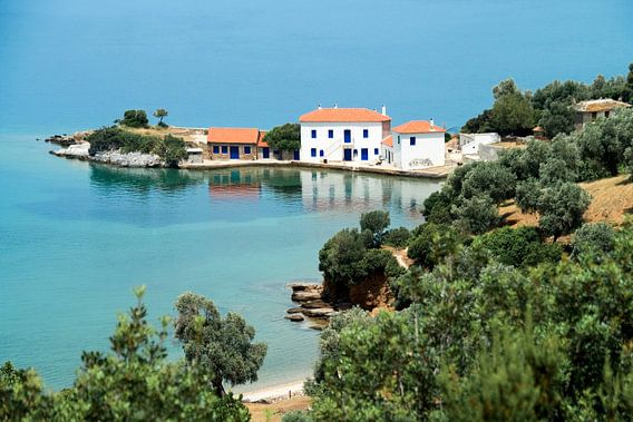 Mooie Griekse baai II