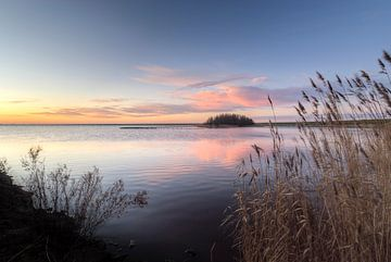 Lauwersmeer Invallende avond von Marnefoto .nl