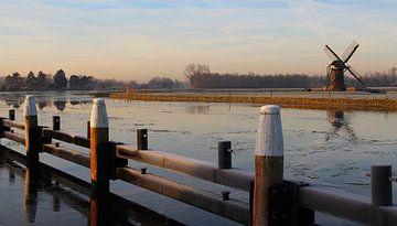 Winter im polder von Wilma Overwijn