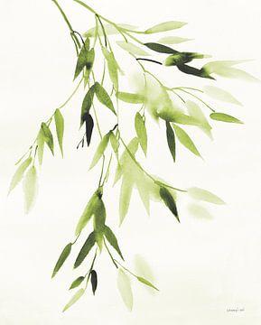 Bladeren van het bamboe IV Green, Danhui Nai van Wild Apple