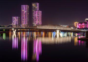 Lichtshow Astana van
