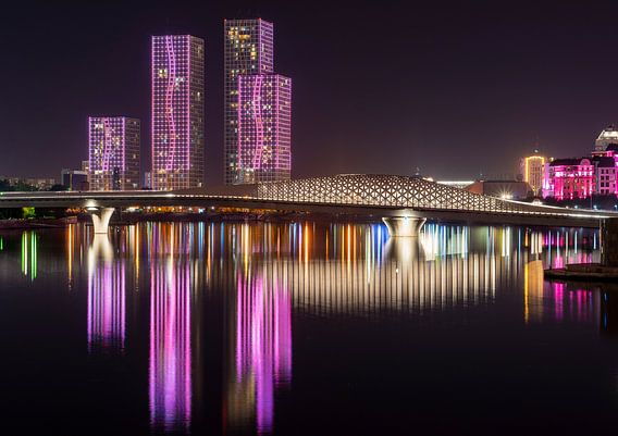 Lichtshow Astana