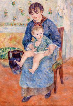 Renoir, Junge Mutter (1881)