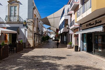 Centre-ville de Faro sur Dennis Eckert