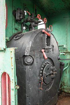 Betrieb einer Dampflokomotive von Eric van Nieuwland