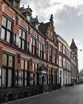 Grachtenpand in Utrecht van Kim de Been