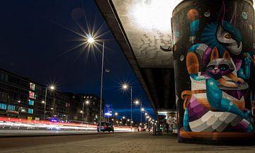 Rotterdamer Straßenkunst von Simon van Leeuwen