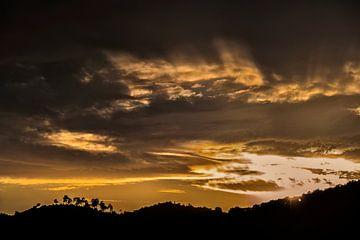goldenen Sonnenuntergang von Anouschka Hendriks