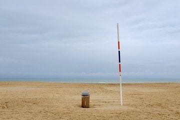 Strand van Koksijde van Johan Vanbockryck