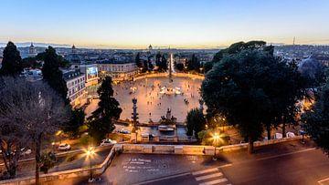 Piazza del Popolo van Merijn Koster