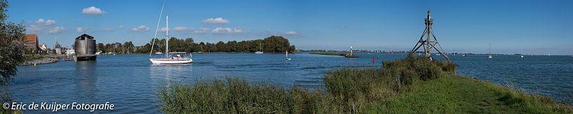 Panorama van VOC Haven in Hoorn sur Eric de Kuijper