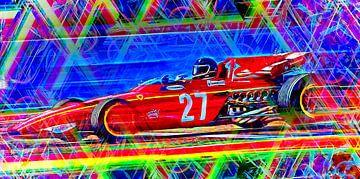 The Motor Racing Legend Jacky Ickx von Jean-Louis Glineur alias DeVerviers