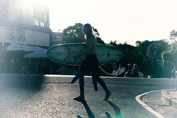 Surfer von Rick van der Poorten