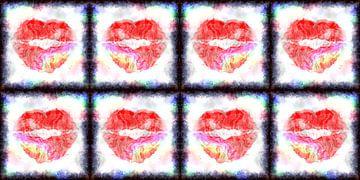 Kiss me! van Leopold Brix