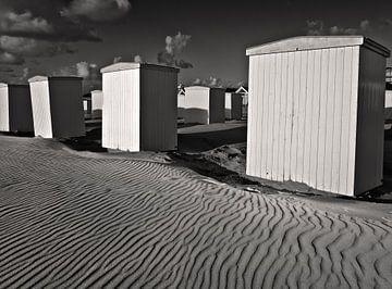 Strandhuisjes van Fons Bitter