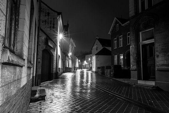 Avond in het Limburgse Valkenburg