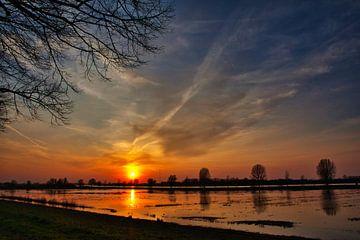 Sonnenuntergang von Ad van Kruysdijk