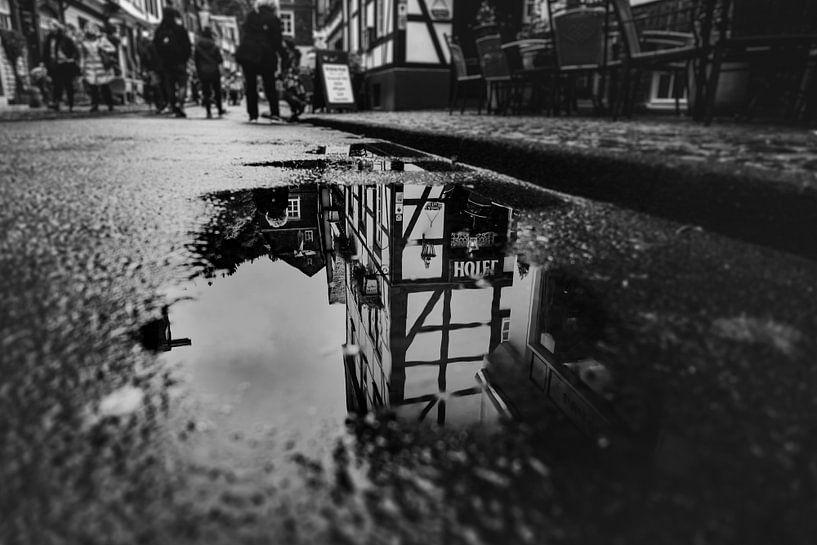 Spiegelen van Willi Schubert