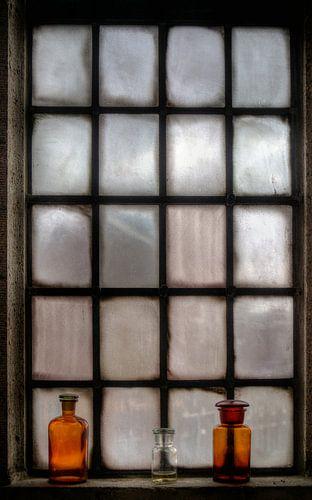 Raam St. Joriskerk historisch Amersfoort