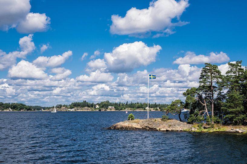 Archipelago on the Baltic Sea coast van Rico Ködder