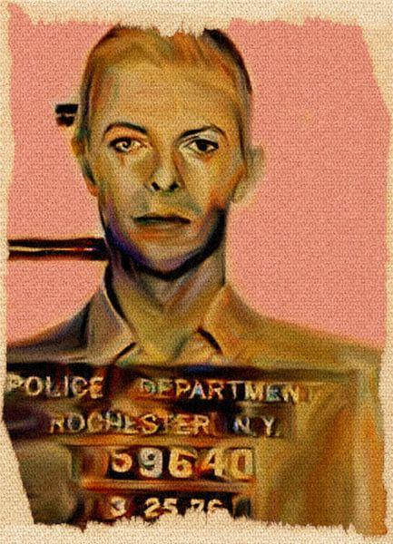 My name is David Bowie Police Department N.Y. van Felix von Altersheim