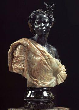 Frau aus den Kolonien, Cordier Charles von Atelier Liesjes
