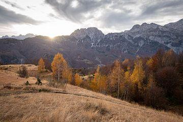 Albanese bergen van Ellis Peeters