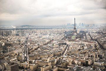 On top of Paris! sur Celina Dorrestein
