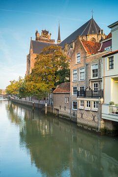 Dordrecht in de herfst van Jan Koppelaar