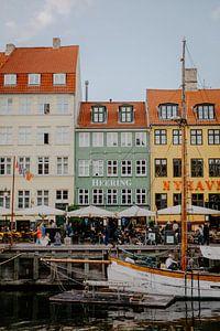 Nyhavn Kopenhagen Denemarken van Jessie Jansen