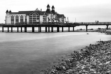 Pier in Selin ( Rügen ) van Daniel Osthues