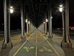 Dansend licht in Parijs
