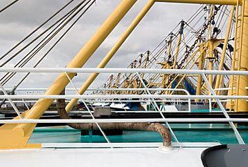 Masten van trawlers van