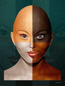 Geen Racisme van Ton van Hummel (Alias HUVANTO)