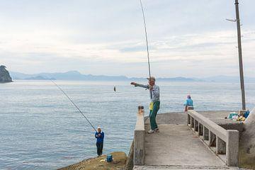 De drie vissers sur Marijn Kuijper