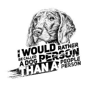 Hundeperson Hundeliebhaber
