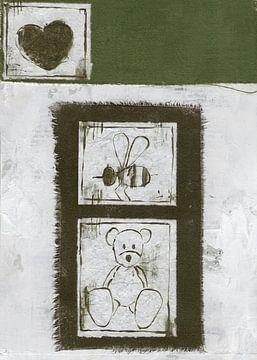 My Honey Bee nr. 34 von Keserű Collective