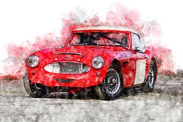 Austin Healey MK2 von Theodor Decker