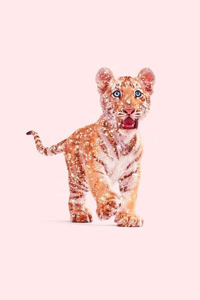 Glitzer Tiger von Jonas Loose