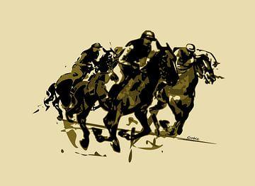 Jockeys van