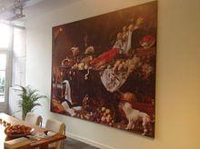 Photo de nos clients: Adriaen van Utrecht. Stil life sur 1000 Schilderijen