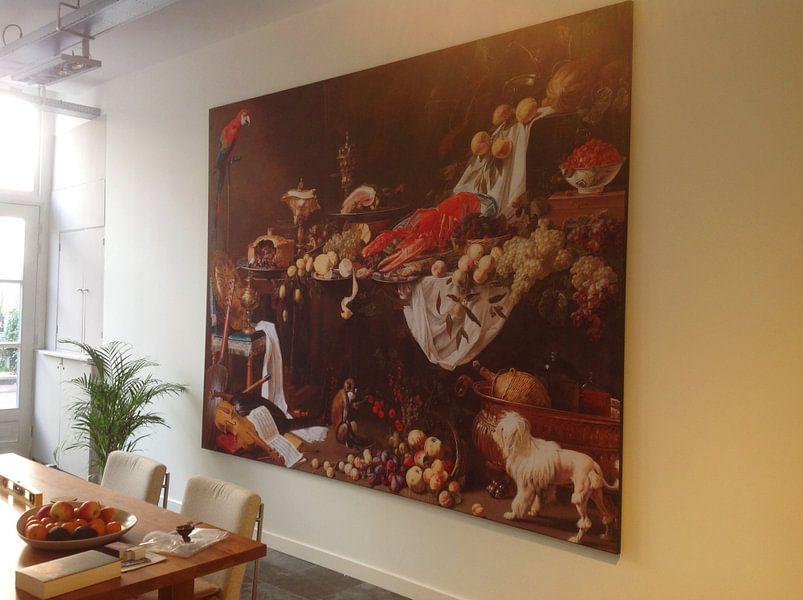 Kundenfoto: Adriaen aus Utrecht. Stillleben von 1000 Schilderijen