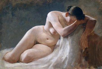Nackte Frau, Boleslaw Barbacki von Atelier Liesjes