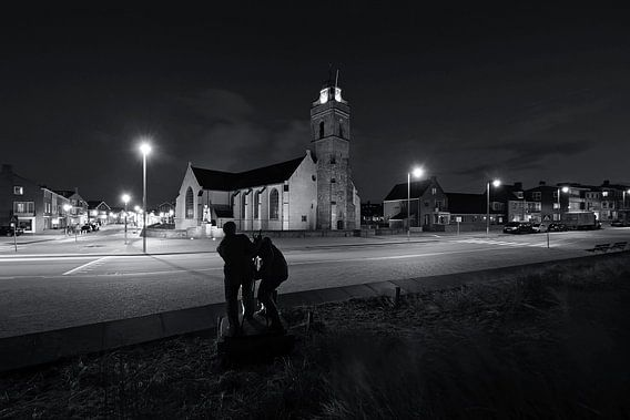 oude kerk van katwijk van Dirk van Egmond