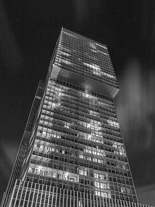 De Rotterdam - schwarz und weiß von Nuance Beeld