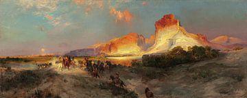 Thomas Moran~Green River Cliffs, Wyoming