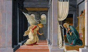 Sandro Botticelli. De aankondiging