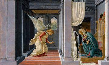Sandro Botticelli. Die Verkündigung