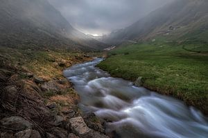Hochsolden Gletsjer waterloop
