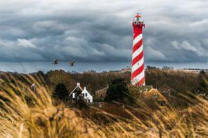 Vuurtoren Westerlicht (Nieuw-Haamstede) van Herman Coumans